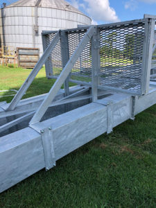 Hot Dipped BE Unitized Trunking Single Platform Attachment